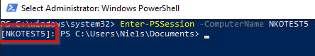 Remote Powershell Session For AutoPilot info collect