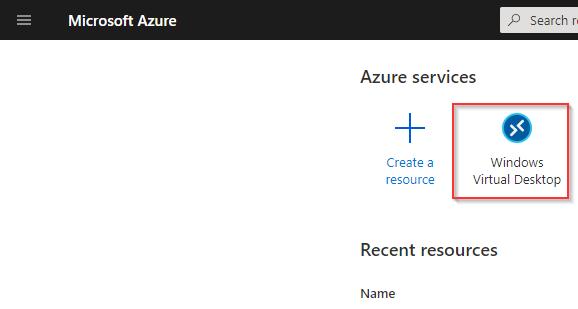 Microsoft Azure WVD