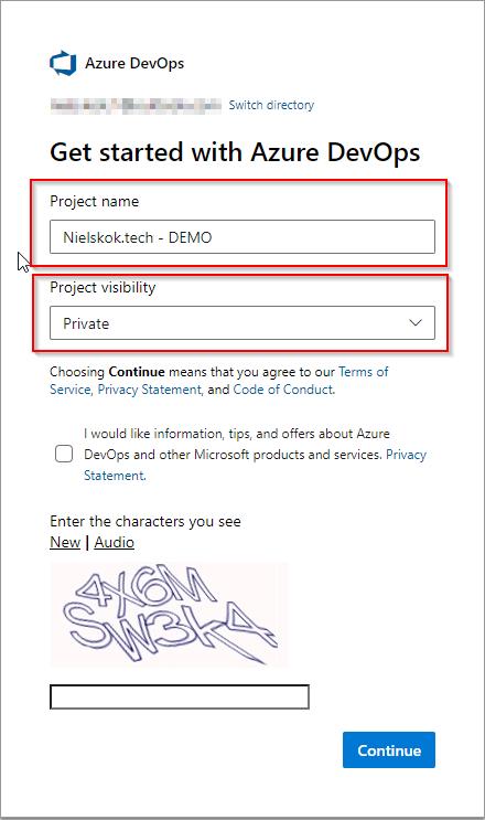Windows 10 Image Series - Part 0 - Create the Azure DevOps organization