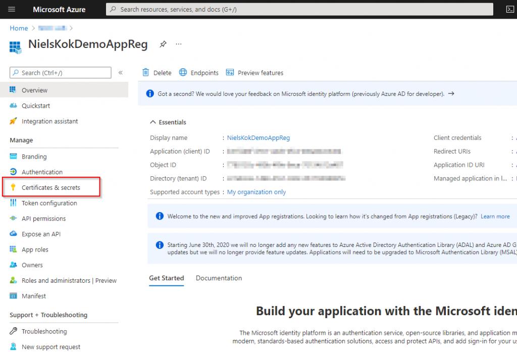 Windows 10 Image Series - Part 0 - Git Certificates secrets