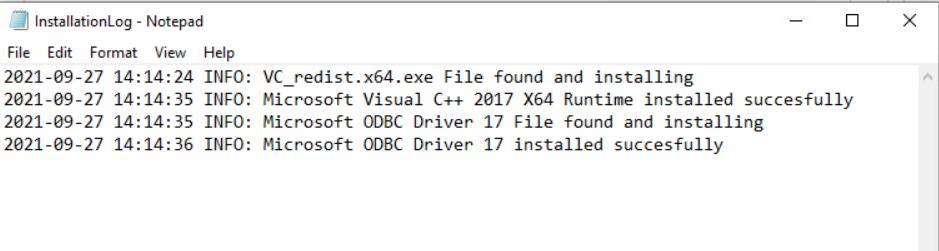 SQL ODBC Driver via Intune - Deployment Log